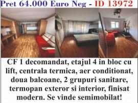 Apartament 4 camere, zona Viziru 3, ID 13972