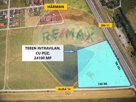 Teren 24,100mp Harman / Aleea 14