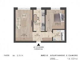 Apartament 2 Camere in Complex Astrelor Popesti Leordeni