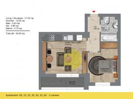 Studio - 1 Minut metru Berceni - Comision 0%
