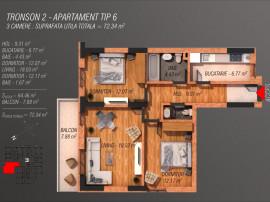 Apartament 3 Camere - Cozy - Bd. Metalurgiei