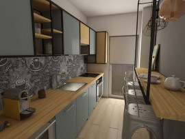 Apartament 3/4 camere - Pallady - Nicolae Teclu