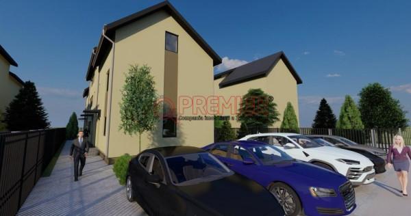 Casa P+1+M, curte libera 100 mp-Popesti.