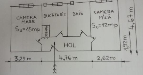 Apartament 2 camere Oras ARAD zona centrala de la proprietar