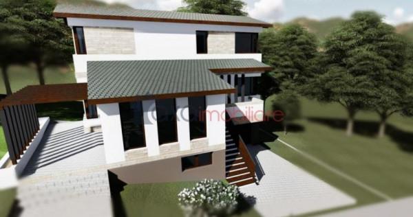 Casa individuala, 177 mp, S+P+E, semifinisat, garaj, DEZMIR