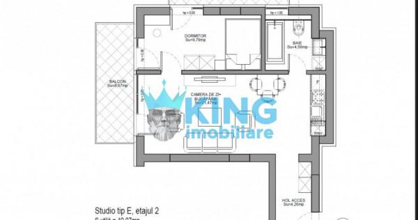 Studio Dublu   Viilor Residence   2 Balcoane  