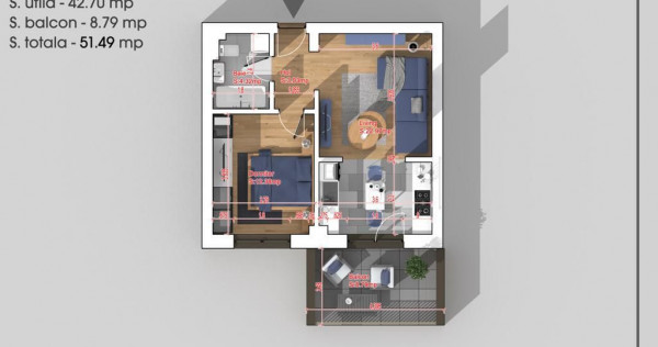 Studio 2 camere Titan - Pallady - 15 minute de METROU 1 D...