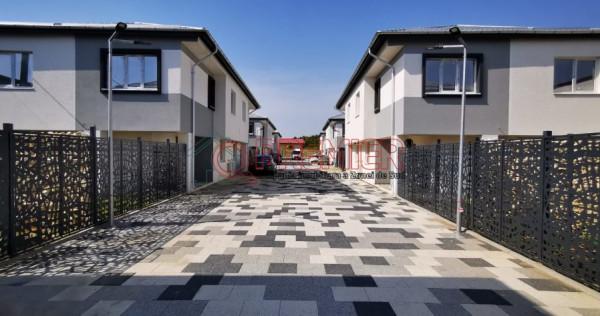 Casa tip duplex 4 camere stradal Popesti-Leordeni