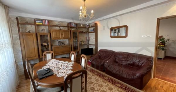 Apartament cu 3 camere decomandat, mobilat si utilat, zona M