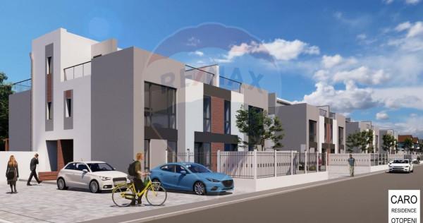 Casa / Vila 4 Camere Complex Nou in Otopeni Terasa 35 MP