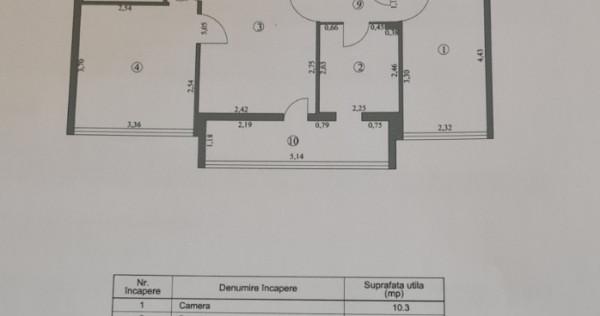 Apartament 3 camere, etaj 1/4, Micro 16