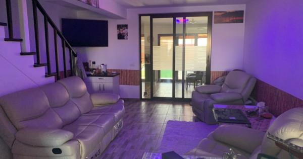 Dumbravita, casa insiruita complet mobilata+utilata