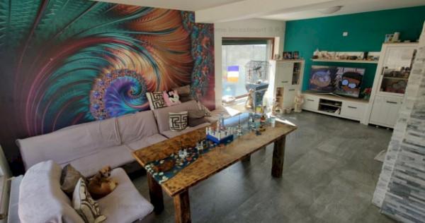 Nou | Casa imbecabila cu 4 camere + 200mp curte | Comuna Ber