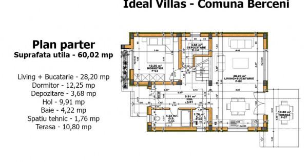Vila Individuala - Comuna Berceni Cartierul NOU