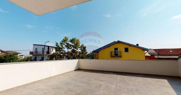 Apartament de vânzare 2 camere cu terasa in Dobroiesti