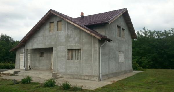 Casa (s+p+m)10.000 mp sat Nucetu com. Lupsanu