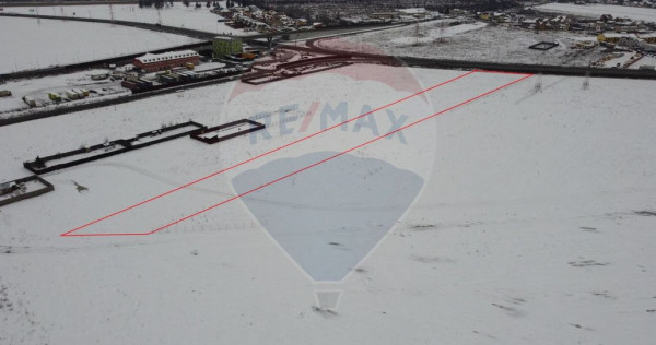 Teren extravilan de vânzare 6275 mp Brașov/ Sanpetru