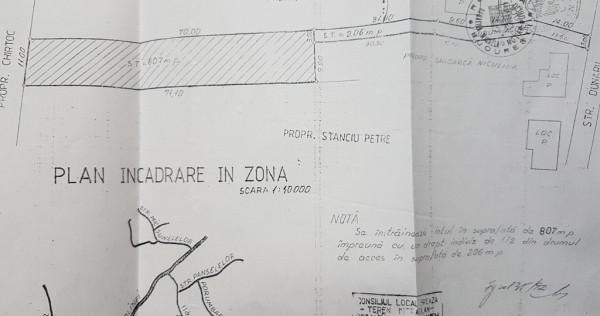 Teren Strada Dunarii 22, Breaza, Prahova 807mp