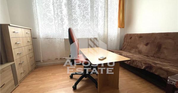 Garsoniera complet mobilata si utilata in zona Steaua