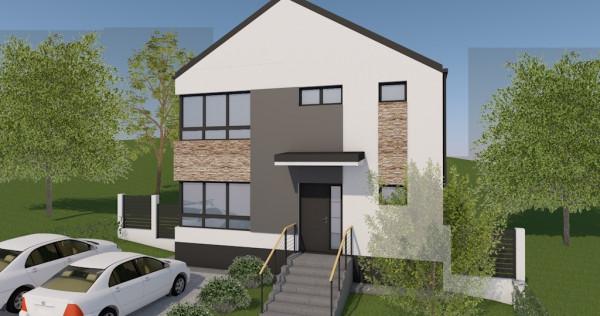 Casa single 119 mp,P+E,teren 500 mp,incalzire prin pardoseal