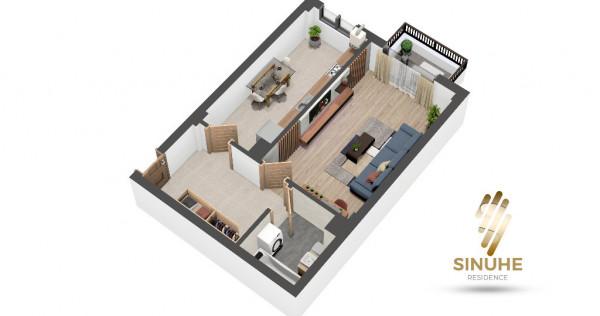 Ideal investitie! 45 mp + balcon, finisaje premium, etaj 2