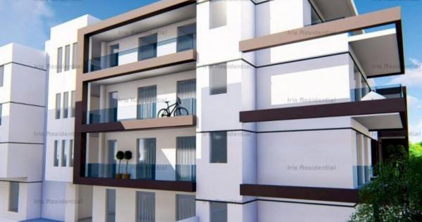 Apartament 3 camere, 63.2mp utili, terasa de 114mp. IRIS BUI