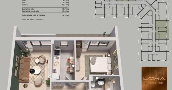 Apartament cu 2 camere , sos Oltenitei - tramvai 1