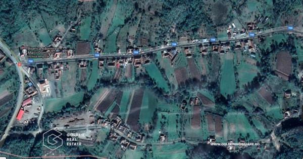 Casa cu teren 6511 mp, Capruta