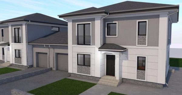 Duplex cu 5 camere unit prin garaj in Dumbravita