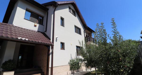 Vila moderna cu 5 camere si 400 mp de teren in Bucuresti