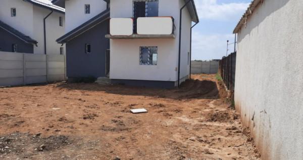 Individuala-4 camere, P+1E+POD depozitare, 2 placi beton, 50