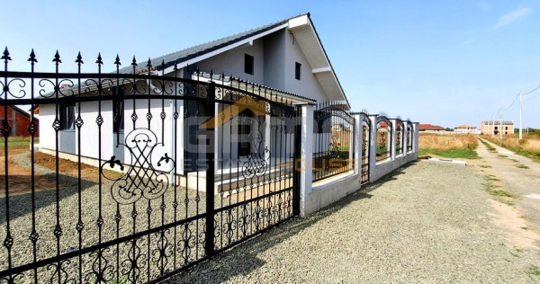 Casa noua cu 4 camere, semifinisat, 600 mp teren, 2021, Vlad