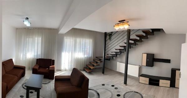 ROZELOR apartament 3 camere pe 2 nivele finisat, mobilat si