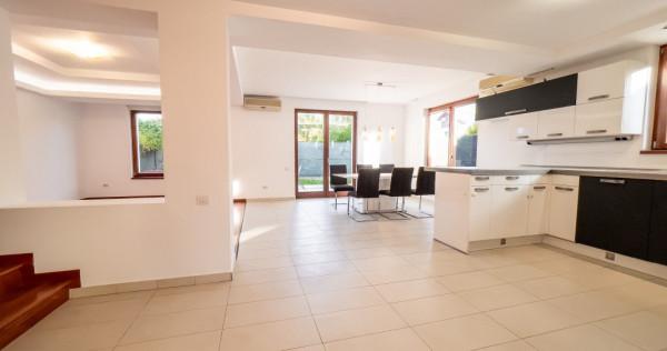 Vila Pipera   Open Living + 3 dormitoare + 85mp Loft + Garaj