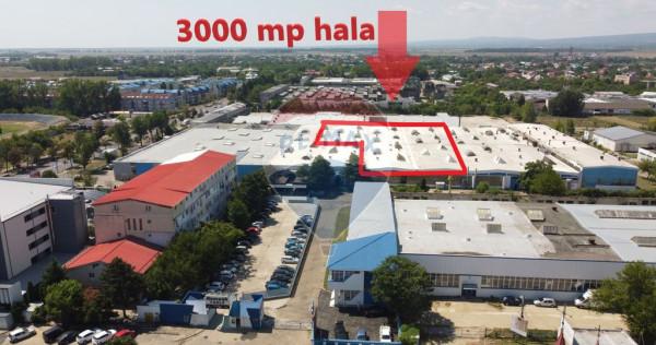 Spațiu industrial hala de 3,000mp de închiriat în zona...