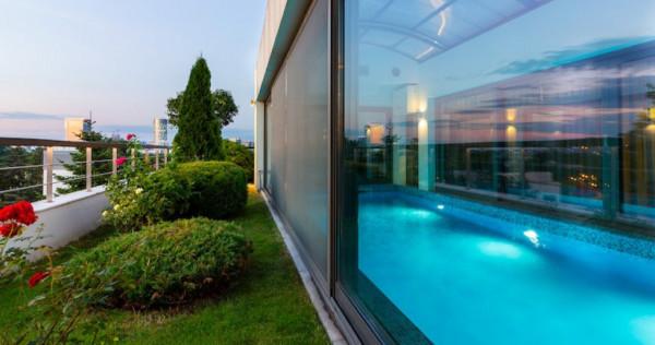 Penthouse Exclusivist, Primaverii, 721 mp, piscina, gradina,