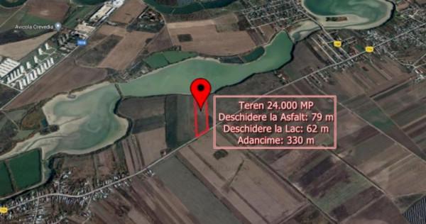 Teren 24.000 Mp in Ciocanesti DB cu deschidere la asfalt si