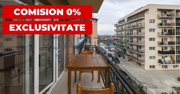 Exclusivitate - Apartament cu 2 camere semidecomandat, zona