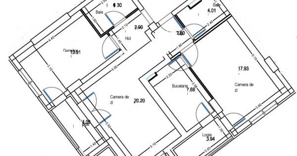 Apartament 3 cam Militari, Iuliu Maniu, 600m de metrou Pacii