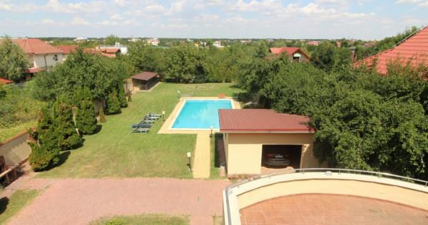 Vila Pipera,mobilata si utilata,5000mp,piscina,2 garaje