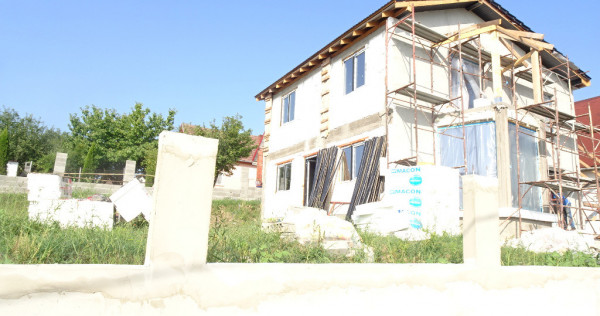 Casa noua in Deva, zona Vulcan, in curs de constructie,190 m