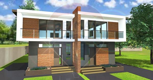 Casă / Vilă tip duplex cu 4 camere de vânzare în Otopeni