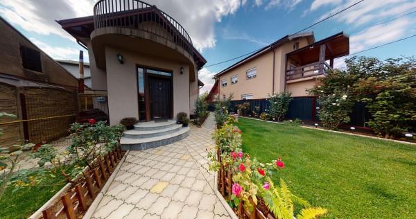 Vilă cu 5 camere, de vânzare în comuna Chitila, zona G...