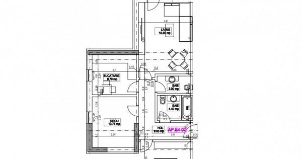 3 camere Titan - Th. Pallady - Metrou Nicolae Teclu, sect...