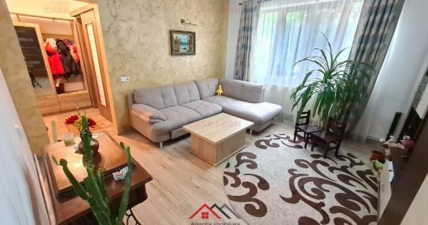Apartament 3 camere in Campina, renovat,mobilat,central !