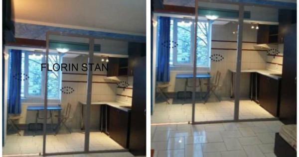 Garsoniera nicolina 25mp reali etaj 2 renovata mobilata