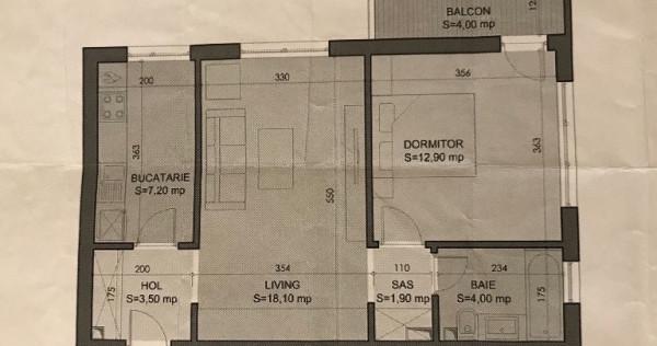 Apartament 2 camere, etaj 2 Strada Binelui