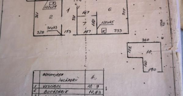 Apartament 3 camere Lebădă Pantelimon