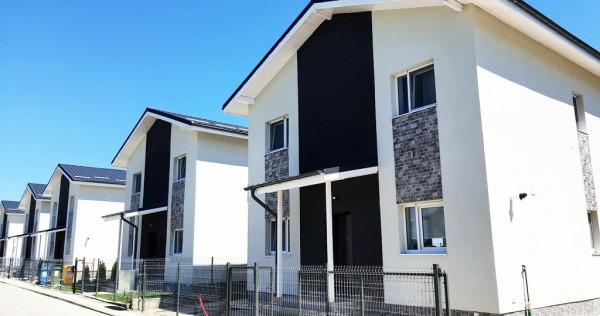 Vile 4 & 5 camere Otopeni City Gardens, 0% comision