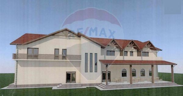 Pensiune de vânzare zona Mărgineni 1000 mp